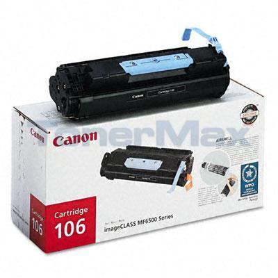 CANON 106 TONER CARTRIDGE BLACK